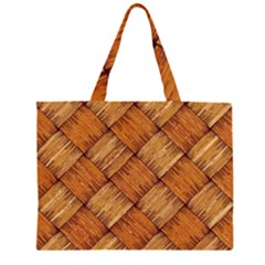 Vector Square Texture Pattern Large Tote Bag
