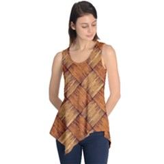 Vector Square Texture Pattern Sleeveless Tunic