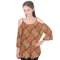 Vector Square Texture Pattern Flutter Tees