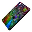 3d Peacock Pattern Samsung Galaxy Tab Pro 8.4 Hardshell Case View5