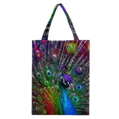 3d Peacock Pattern Classic Tote Bag