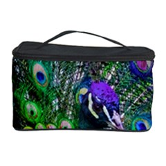 3d Peacock Pattern Cosmetic Storage Case