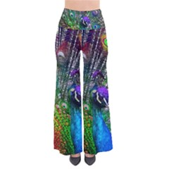 3d Peacock Pattern Pants