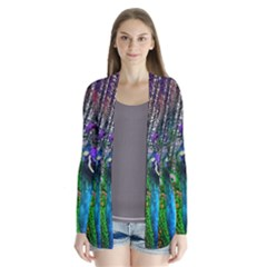 3d Peacock Pattern Cardigans