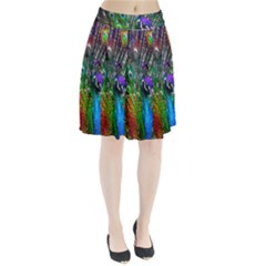3d Peacock Pattern Pleated Skirt
