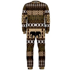 African Vector Patterns  Onepiece Jumpsuit (men)