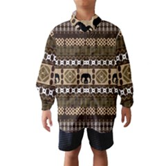 African Vector Patterns  Wind Breaker (kids)