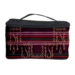 Ulos Suji Traditional Art Pattern Cosmetic Storage Case