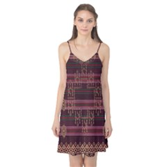 Ulos Suji Traditional Art Pattern Camis Nightgown