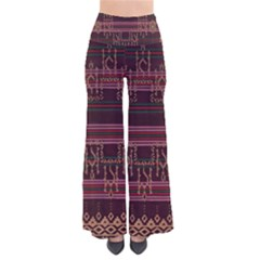 Ulos Suji Traditional Art Pattern Pants