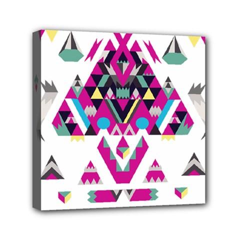 Geometric Play Mini Canvas 6  X 6