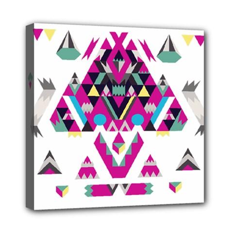 Geometric Play Mini Canvas 8  x 8
