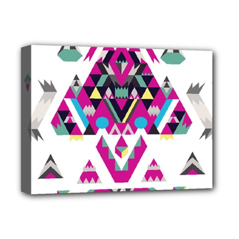 Geometric Play Deluxe Canvas 16  x 12