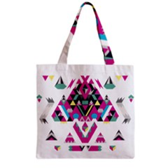 Geometric Play Grocery Tote Bag