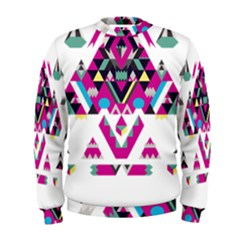 Geometric Play Men s Sweatshirt