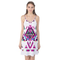 Geometric Play Camis Nightgown