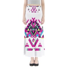 Geometric Play Maxi Skirts