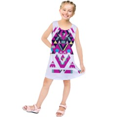 Geometric Play Kids  Tunic Dress