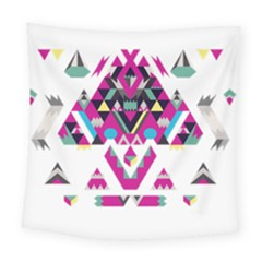 Geometric Play Square Tapestry (large)
