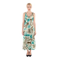 Telegramme Sleeveless Maxi Dress