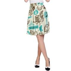 Telegramme A Line Skirt