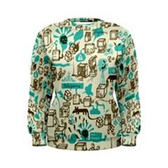 Telegramme Women s Sweatshirt