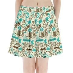 Telegramme Pleated Mini Skirt