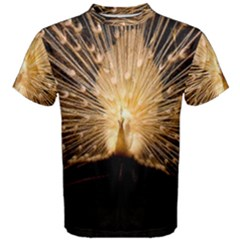 3d Beautiful Peacock Men s Cotton Tee