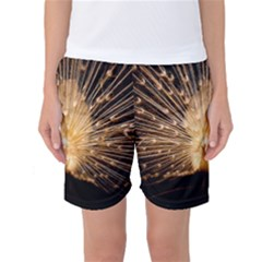 3d Beautiful Peacock Women s Basketball Shorts