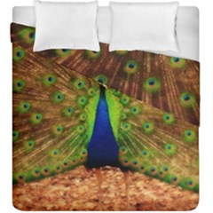 3d Peacock Bird Duvet Cover Double Side (king Size)