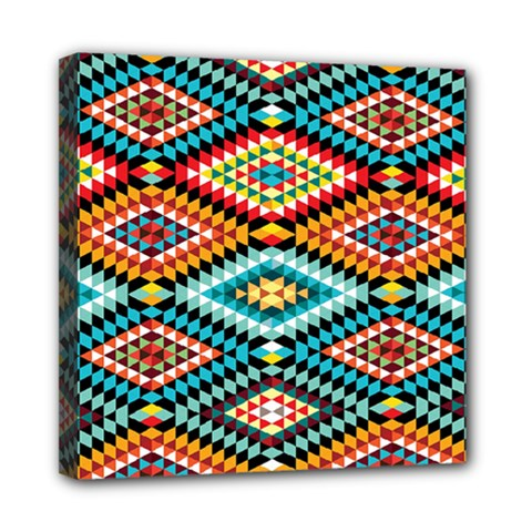 African Tribal Patterns Mini Canvas 8  X 8
