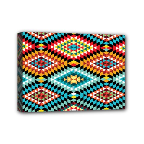 African Tribal Patterns Mini Canvas 7  X 5