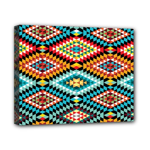 African Tribal Patterns Canvas 10  x 8