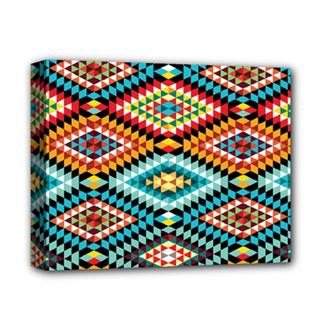 African Tribal Patterns Deluxe Canvas 14  X 11