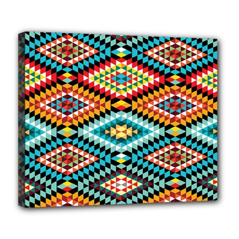 African Tribal Patterns Deluxe Canvas 24  X 20