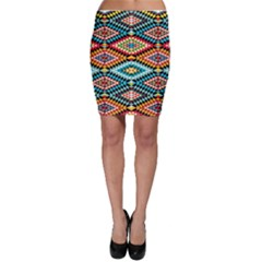 African Tribal Patterns Bodycon Skirt