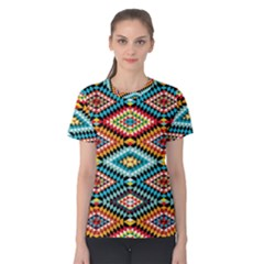 African Tribal Patterns Women s Cotton Tee