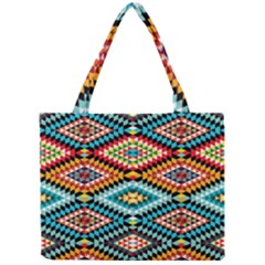 African Tribal Patterns Mini Tote Bag