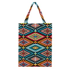 African Tribal Patterns Classic Tote Bag