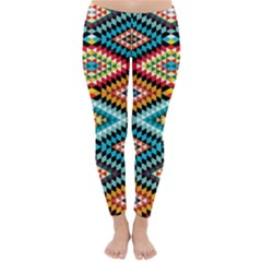 African Tribal Patterns Classic Winter Leggings