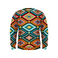 African Tribal Patterns Kids  Sweatshirt