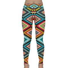 African Tribal Patterns Classic Yoga Leggings