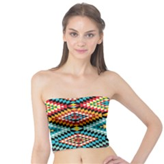 African Tribal Patterns Tube Top