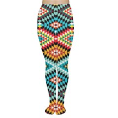 African Tribal Patterns Women s Tights