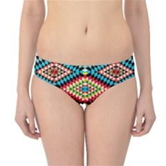 African Tribal Patterns Hipster Bikini Bottoms