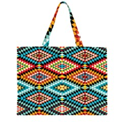 African Tribal Patterns Large Tote Bag