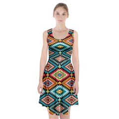 African Tribal Patterns Racerback Midi Dress