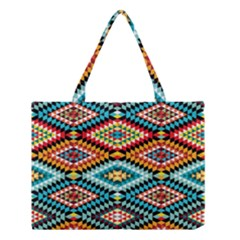 African Tribal Patterns Medium Tote Bag