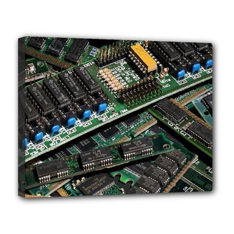 Computer Ram Tech Canvas 14  X 11