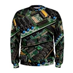 Computer Ram Tech Men s Sweatshirt